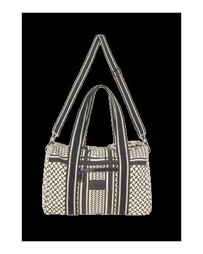 Small Bag Muriel Kufiya Off-White Black