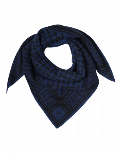 Lala Berlin Tørklæde Triangle S/Junior Inchiostro Dark Blue