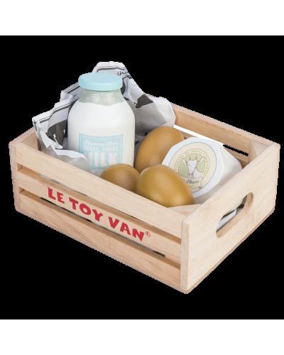 Honeybake- Æg & mælkeprodukter