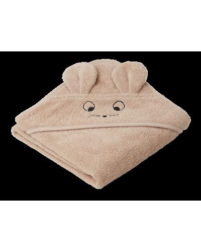 Albert Baby Badehåndklæde Mus Pale Tuscany