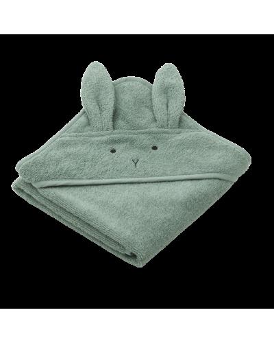 Albert Baby Badehåndklæde Rabbit Peppermint