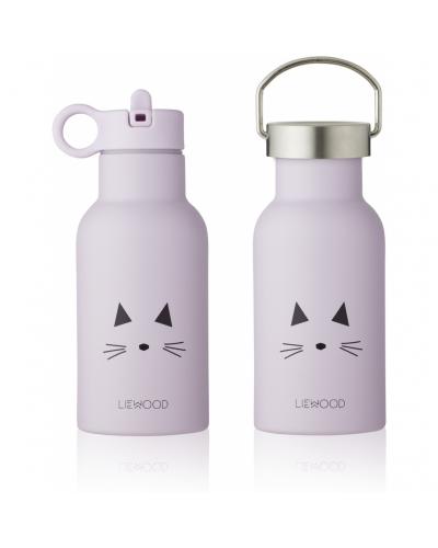 Anker Drikkedunk Cat Light Lavender