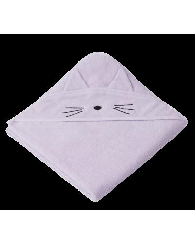Badehåndklæde Augusta Kat Light Lavender