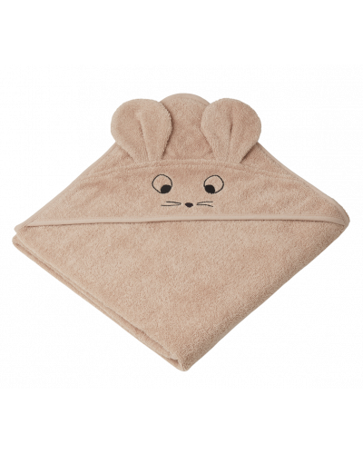 Badehåndklæde Augusta Mus Pale Tuscany