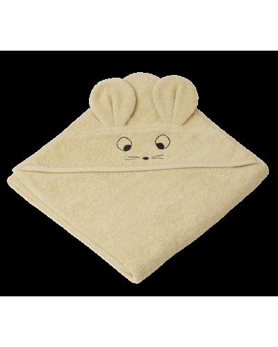 Badehåndklæde Augusta Mus Wheat Yellow