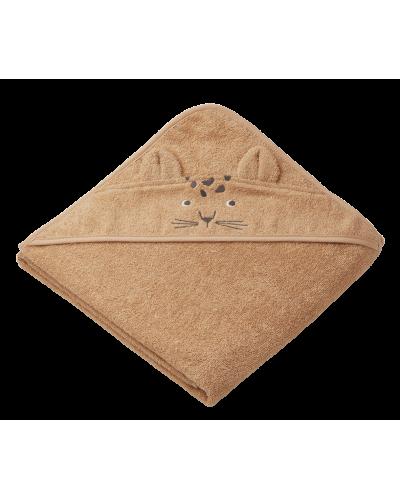 Badehåndklæde Augusta Leopard Apricot
