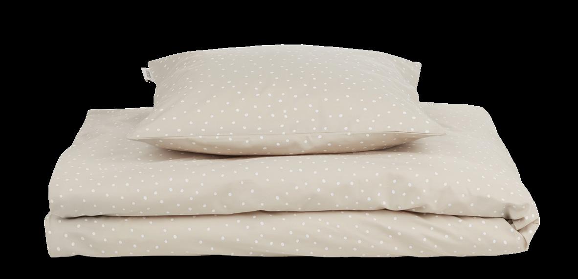 Carl Voksen sengetøj confetti sandy