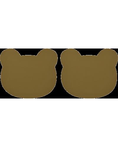 Dækkeserviet Gerda 2 Pack Bear Olive Green