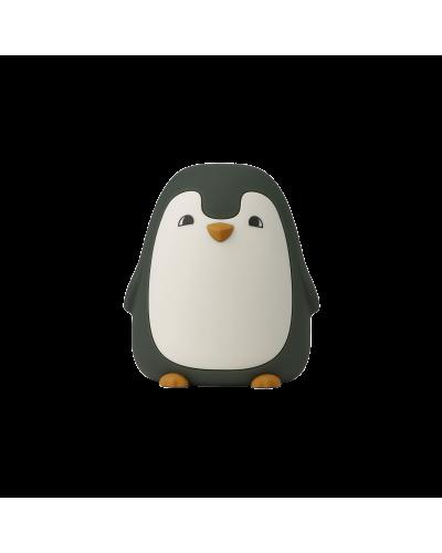 Ditlev Night Light Penguin Hunter Green