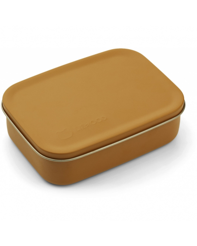 Jimmy Lunch Box Mr Bear Mustard