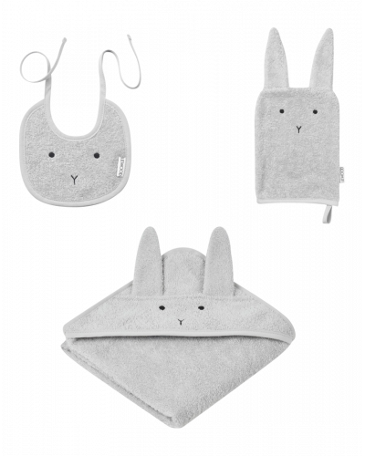 Liewood Babypakke Håndklæde, Hagesmæk, Badehand