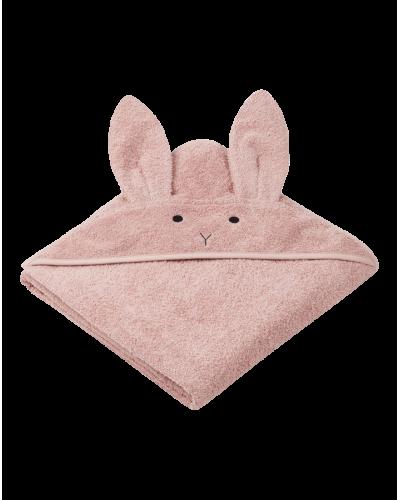 Badehåndklæde Junior Kanin Rosa