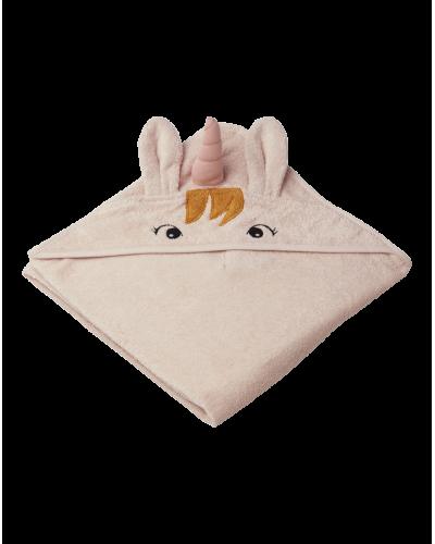 Liewood Unicorn Badehåndklæde Sorbet Rose