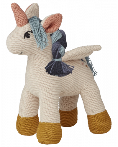 Unicorn Strikket Bamse Sandy