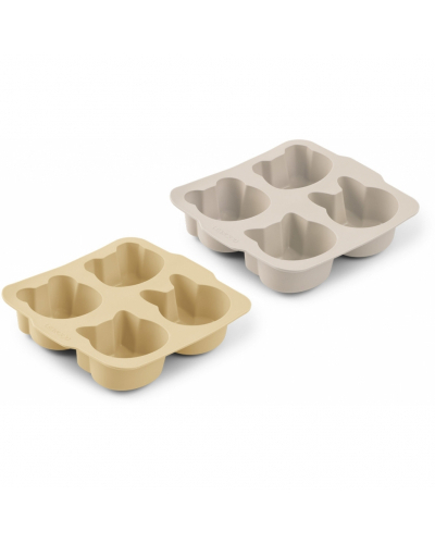 Mariam Silicone Bageform 2-pack Wheat Yellow Sandy Mix