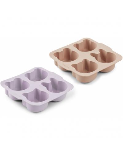 Mariam Silicone Bageform 2-pack Light Lavender Rose Mix