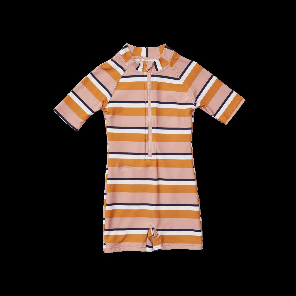 Max swimsuit rose/mustard/creme
