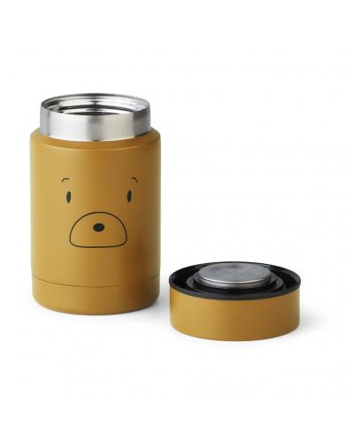 Nadja Food Jar Mr Bear Golden Caramel