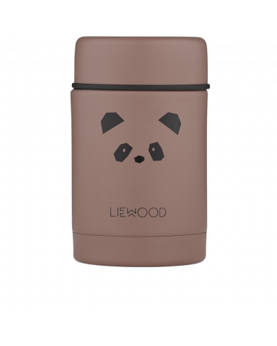 Nadja Food Jar Panda Dark Rose