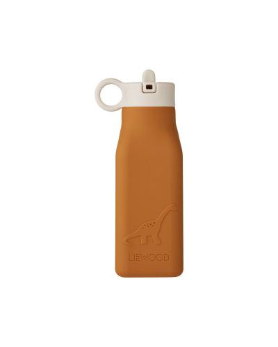 Water Bottle Dino Mustard