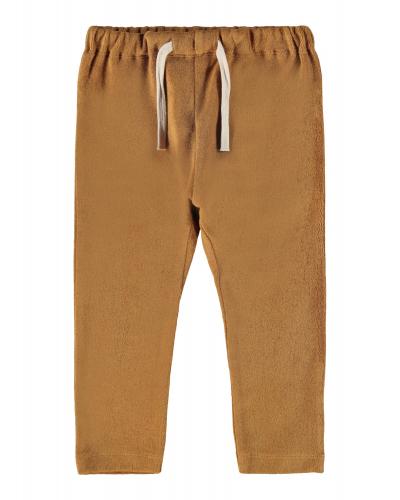 Evald Loose Sweatpants Tobacco Brown