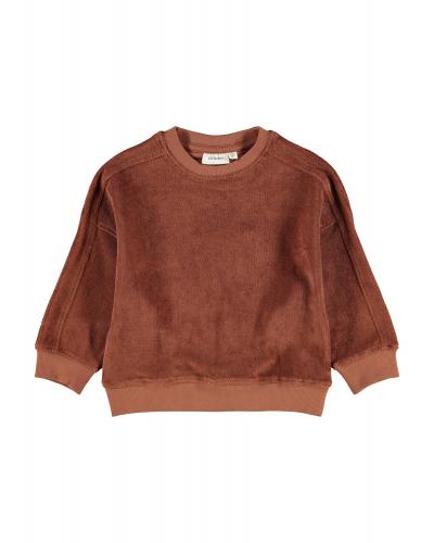 Evald LS Oversized Sweatshirt Tortoise Shell