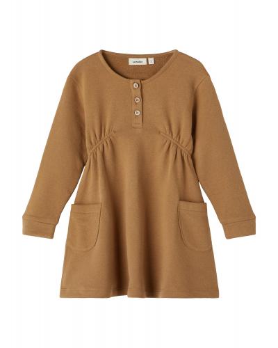 Felipa LS Loose Sweat Dress Ermine