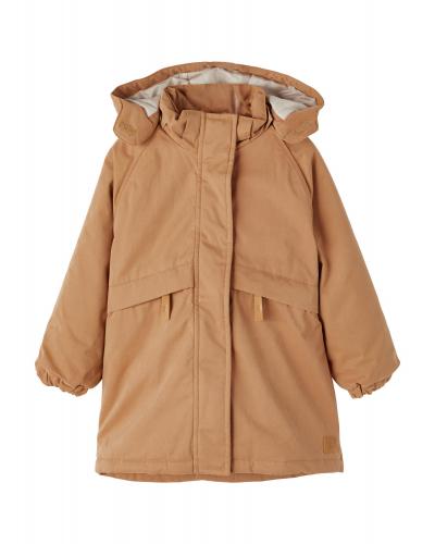 Gudrun Long Jacket Tobacco Brown