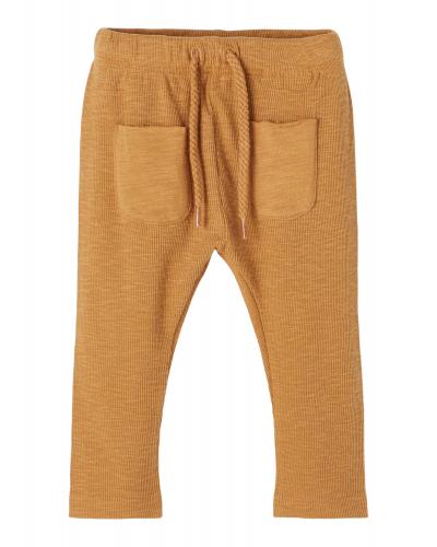 Mivar Loose Pants Tobacco Brown