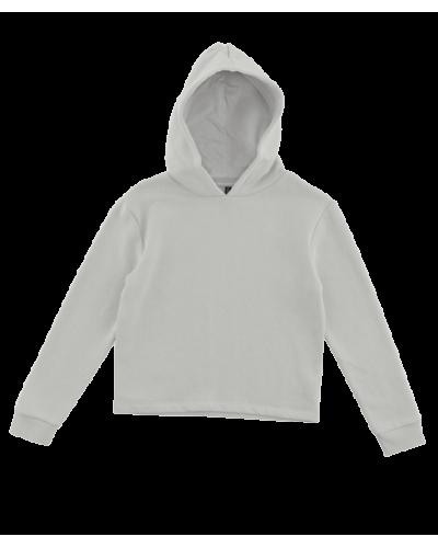 Chilli Hood Sweatshirt Light Grey Melange