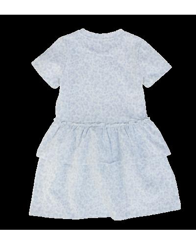 Lilly kjole blå blomster leo