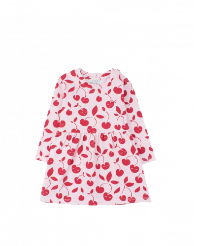 Cherry Lotta Dress Pink/Red
