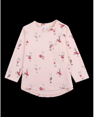 Langærmet T-shirt Ballerina Bunny