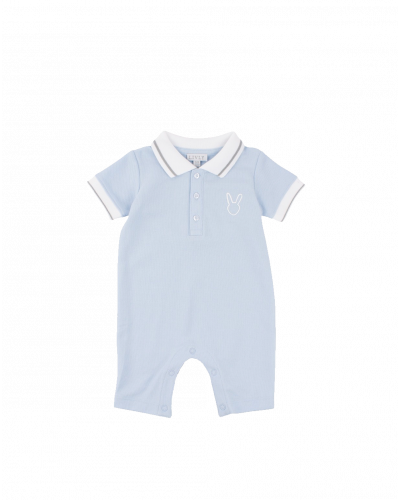 Pike Romper Baby Blue