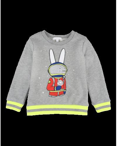 Sweatshirt Bunny Astronaut Grey