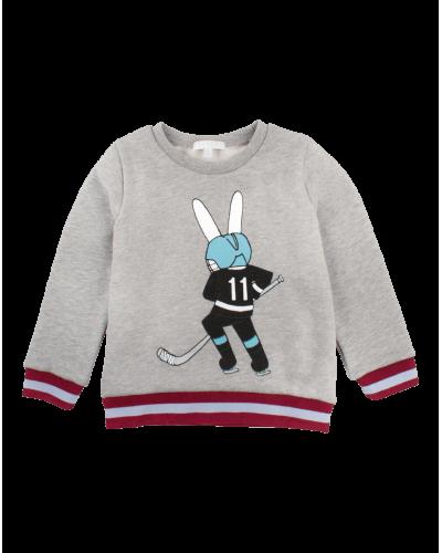 Livly Sweatshirt Hockey Bunny Grey