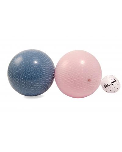 Bolde plast 2 i net (lyserød og blå)