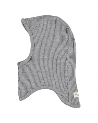 Balaclava Modal Hat Grey Melange
