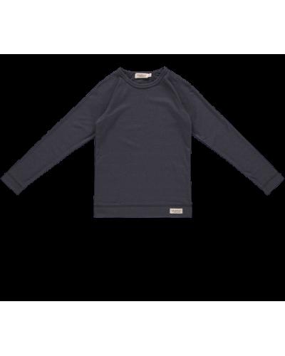 Base T-shirt Ls Darkest Blue