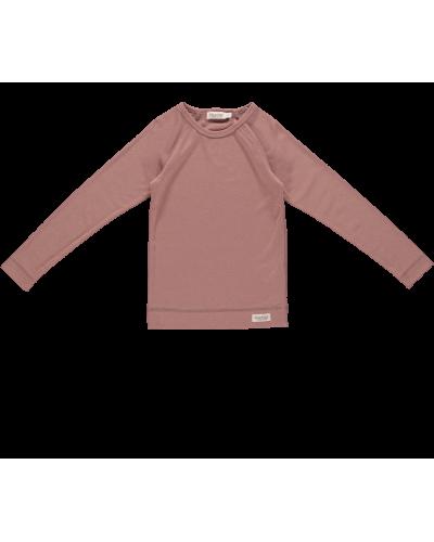 Base T-shirt Ls Rose Blush