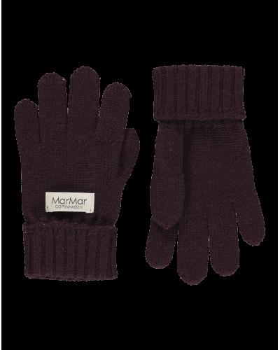 MarMar Fingerhandsker Dark Plum