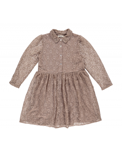 Kjole Dinnie Stretch Lace, Oak