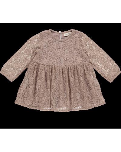 Kjole Diora Stretch Lace, Oak