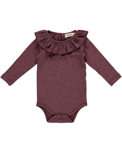 MarMar Berta Body Dark Plum Lurex