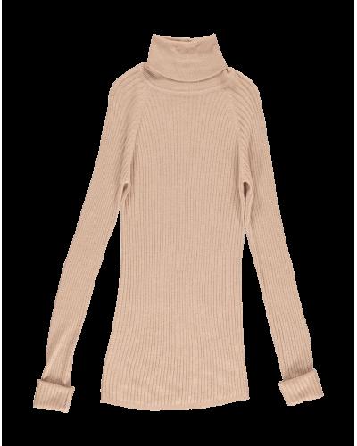 Marmar Bluse Trisha Super Light Knit Terracotta