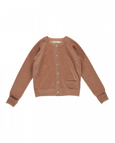 Tille Cardigan Red Earth