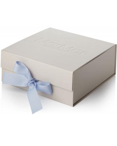 New Born Gift Box 3 Pcs Romber Pale Blue