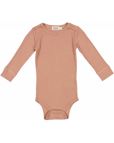 Plain Body LS Rose Brown
