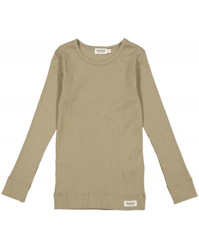 Plain T-shirt LS Modal Elm