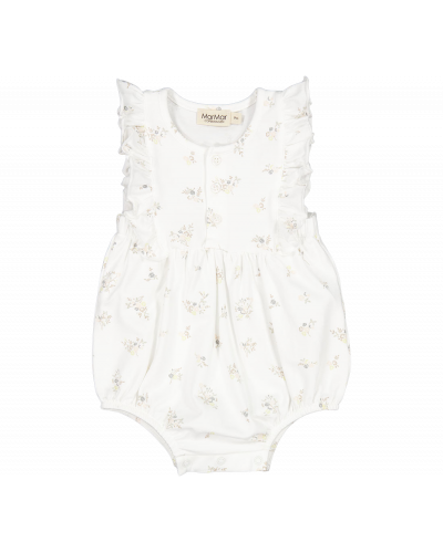 Romper Roma Frill Rose Bouquet